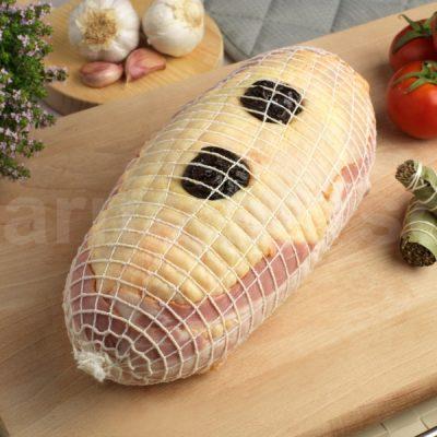 Pollo Relleno de Ciruelas
